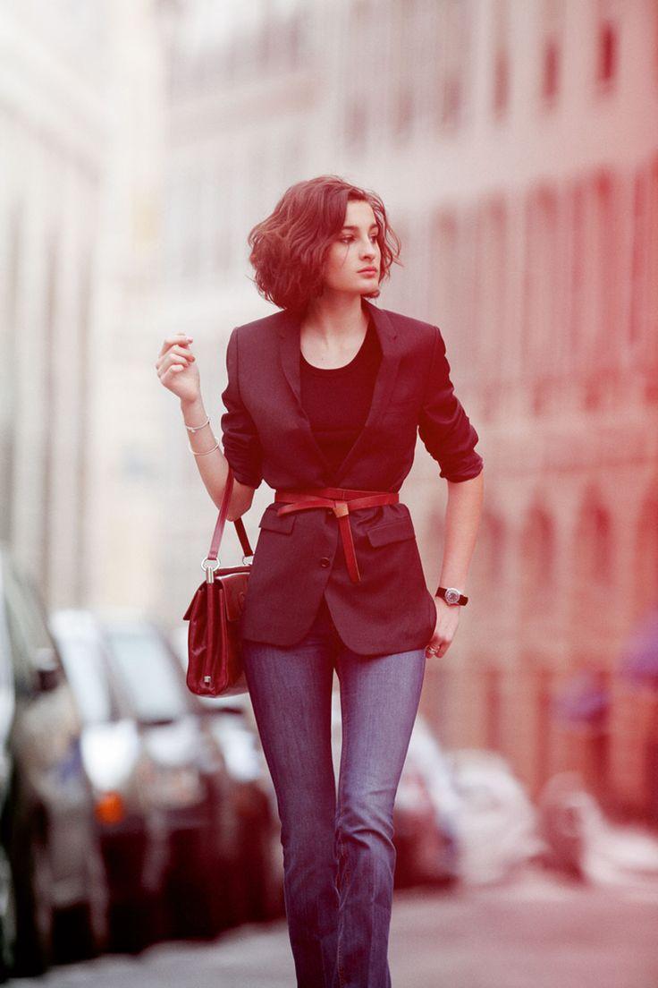 MASCULINO + FEMININO Ines de la Fressange daughter Nine Parisian Chic style (Vogue.com UK)