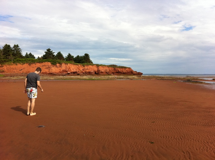 Bellevue Cove, Stratford, PEI....at low tide.