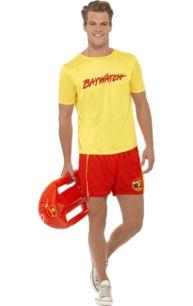 Men's Baywatch Beach Costume