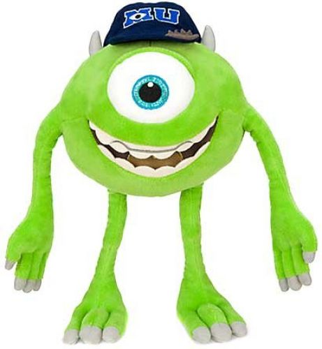 Monsters Inc 44038: Disney Pixar Monsters University Mike Michael Wazowski 12 Plush -> BUY IT NOW ONLY: $30.44 on eBay!
