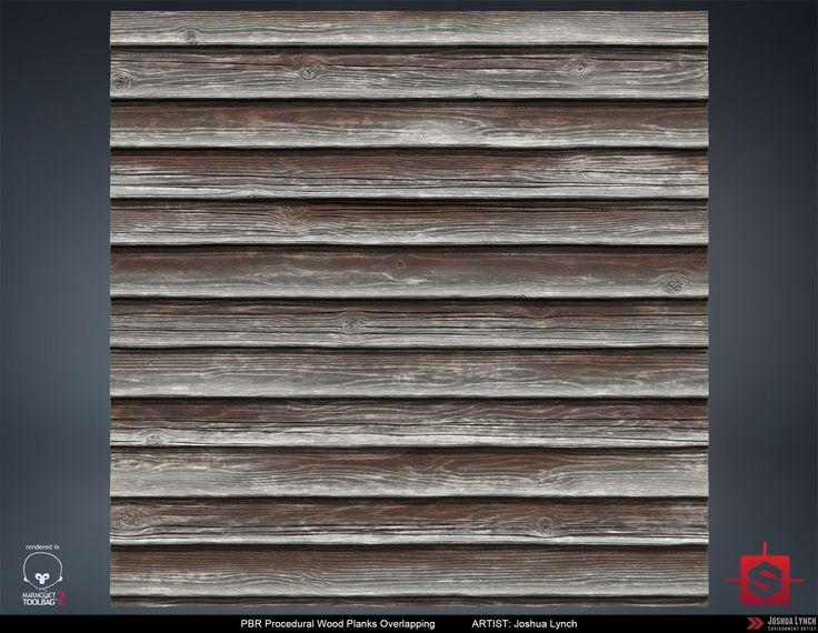 ArtStation - Wood Planks Overlapping, Joshua Lynch