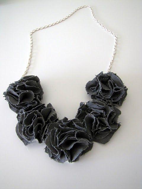 Pom necklace!
