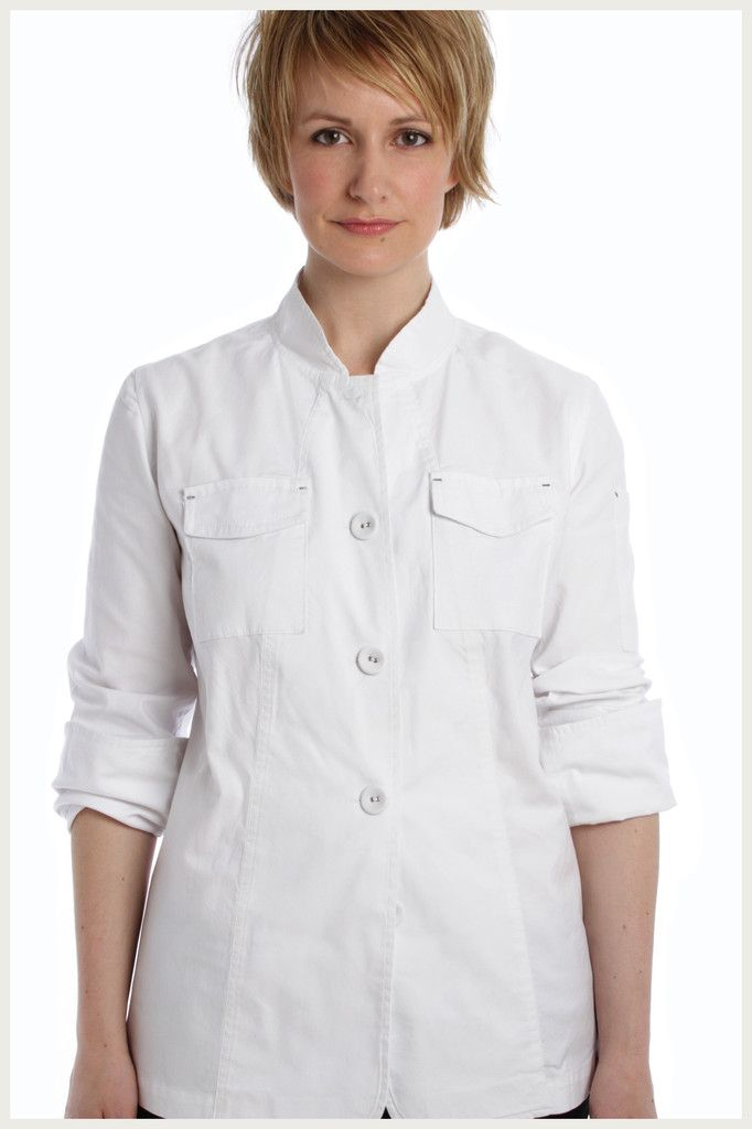 Shannon Reed - Designer Chef Jacket - Women's Cargo http://www.shannonreed.com/collections/women/products/cargo-chef-jacket