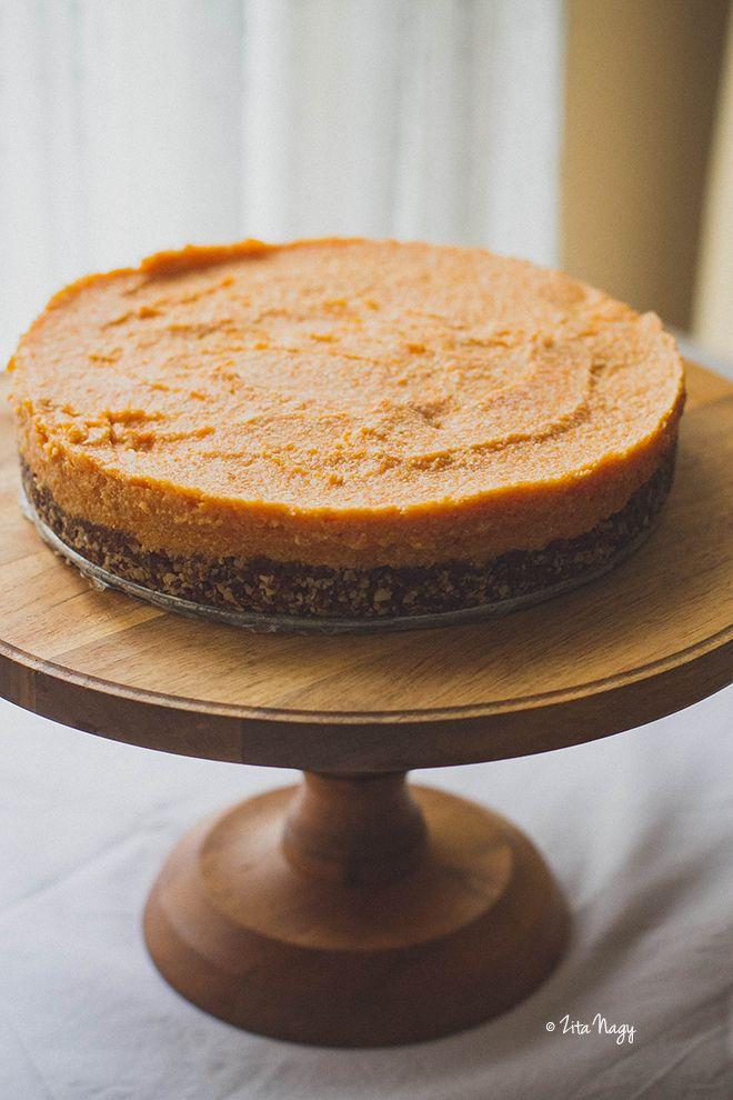 Kókuszos sütőtök torta (laktózmentes, gluténmentes, vegán)