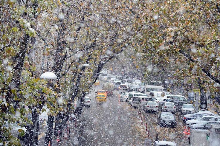TÜRKİYE Ankara'dan kar manzaraları... Fotoğraf: Çağlar Şahin
