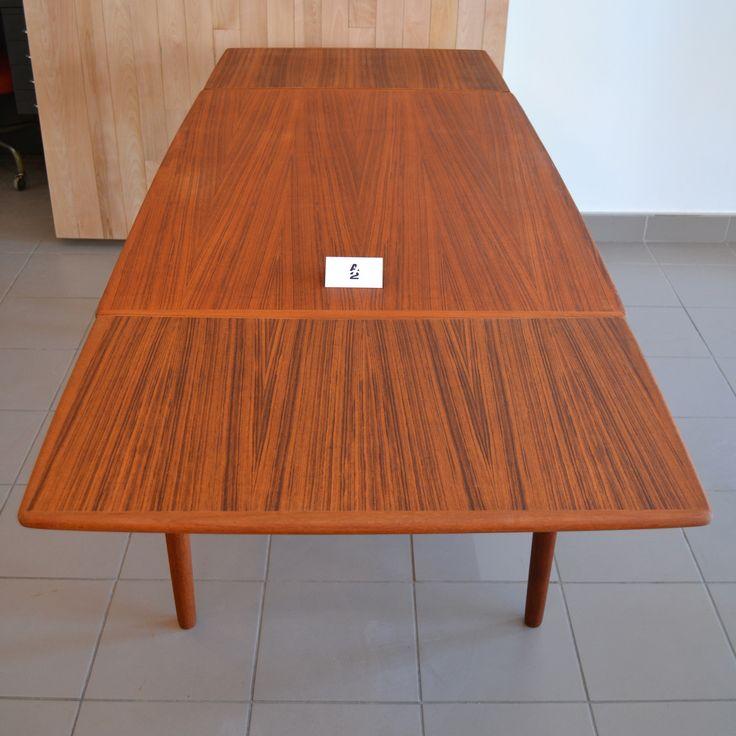 Mid-century Modern - Table à manger en teck