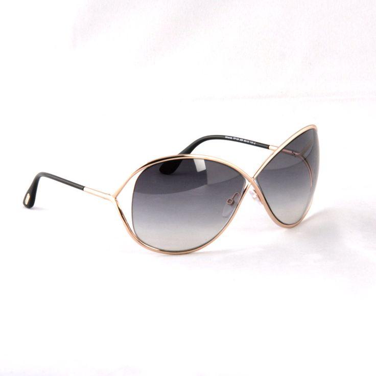 Tom Ford Miranda FT0130 SHINY BRONZE Sunglasses 28B