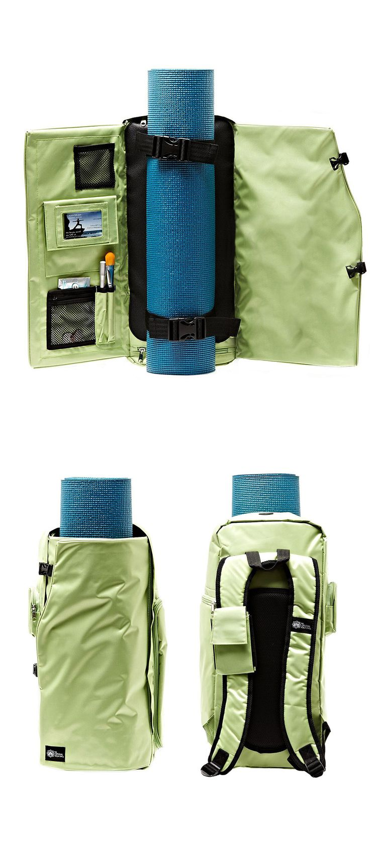 All In One Yoga Backpack - Multiple pockets to hold all your essentials.