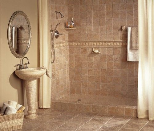 Philadelphia Travertine + Bathrooms