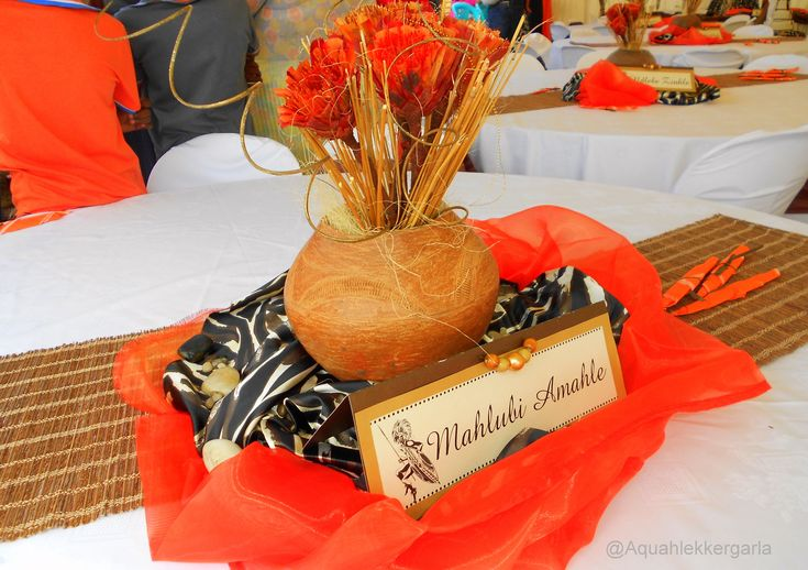 Traditional African Wedding Decor - Google Search
