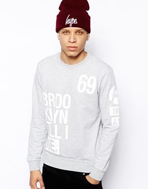Anticulture Sweatshirt with Brooklyn Print
