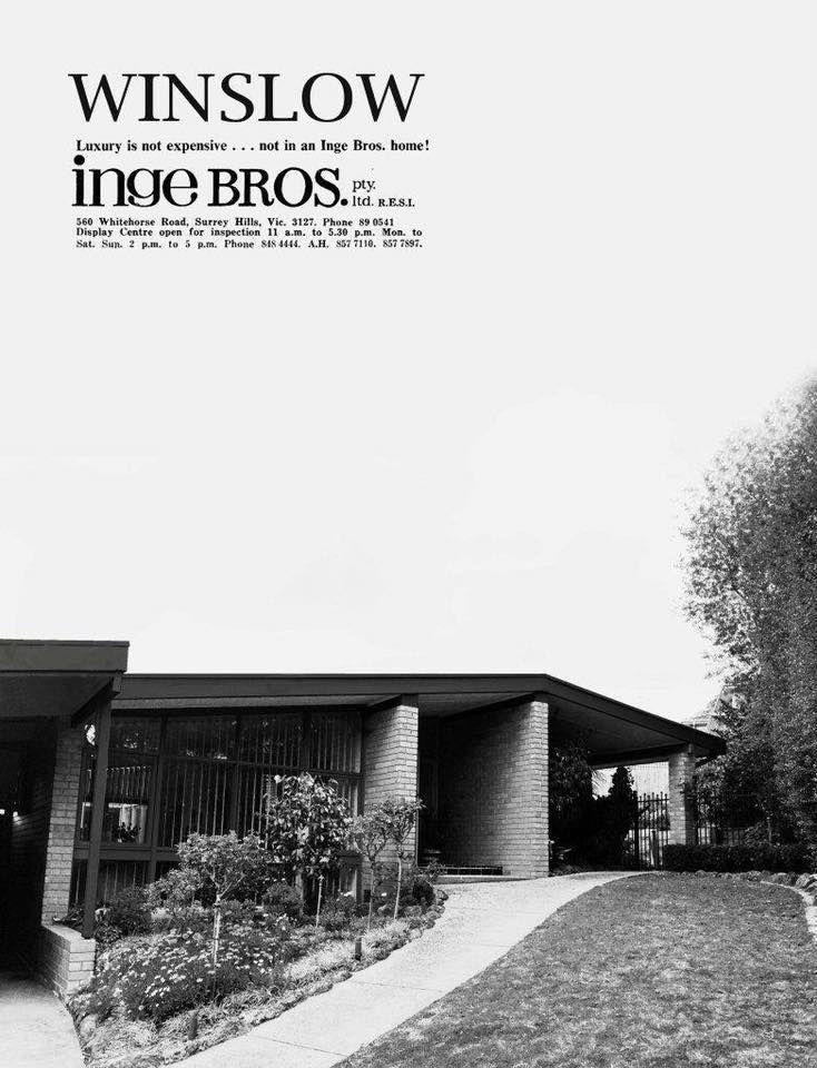 32 Long View Rd, Croydon South VIC • Modernist Australia