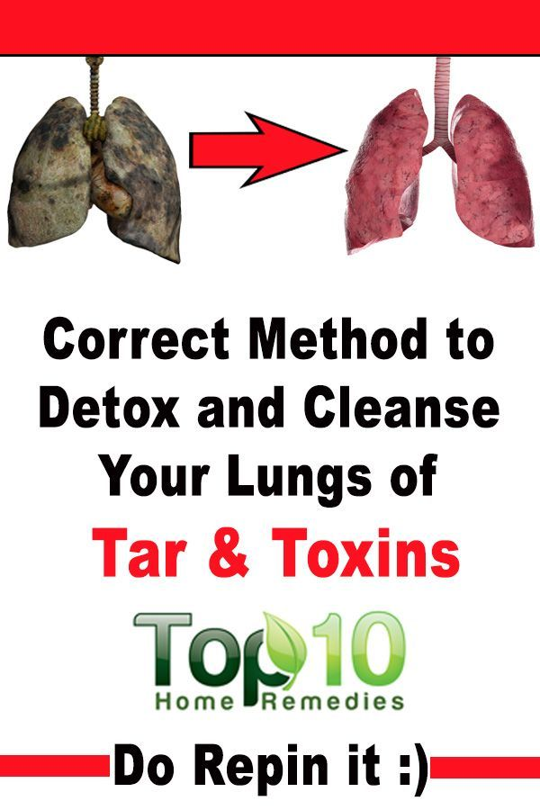 how to clean your lungs at home