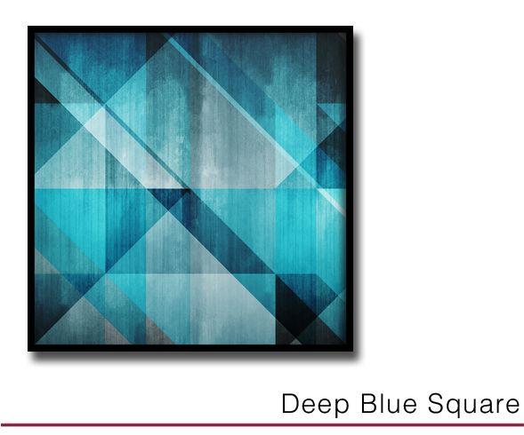 Deep Blue Square