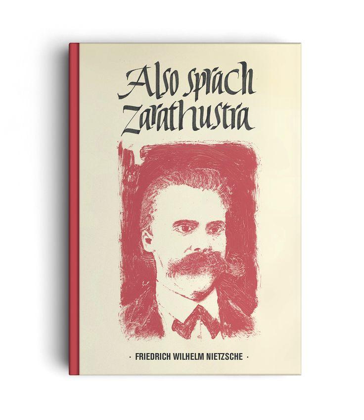 ALSO SPRACH ZARATHUSTRA - ART DIRECTION - LETTERING - Illustration: Riccardo Miotto