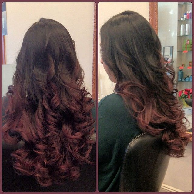 152 best color highlights images on pinterest color highlights get a new ammonia free hair color a red purple balayage on a dark pmusecretfo Image collections