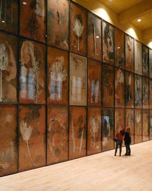 Anselm Kiefer - Gagosian Gallery http://www.gagosian.com/artists/anselm-kiefer #FredericClad