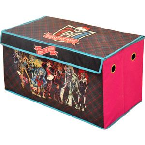 Monster High Collapsible Storage Trunk. Show this number 0078485751535 to a Walmart associate to find this item in your store