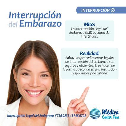 Clínicas de aborto. Aborto seguro en la Ciudad de México. ¡Infórmate! Los procedimientos legales no tienen consecuencias en tu fertilidad. #MedicaCenterFEM #Aborto #ClinicasAborto #ILE http://www.medicacenterfem.com/interrupcion-legal-del-embarazo/