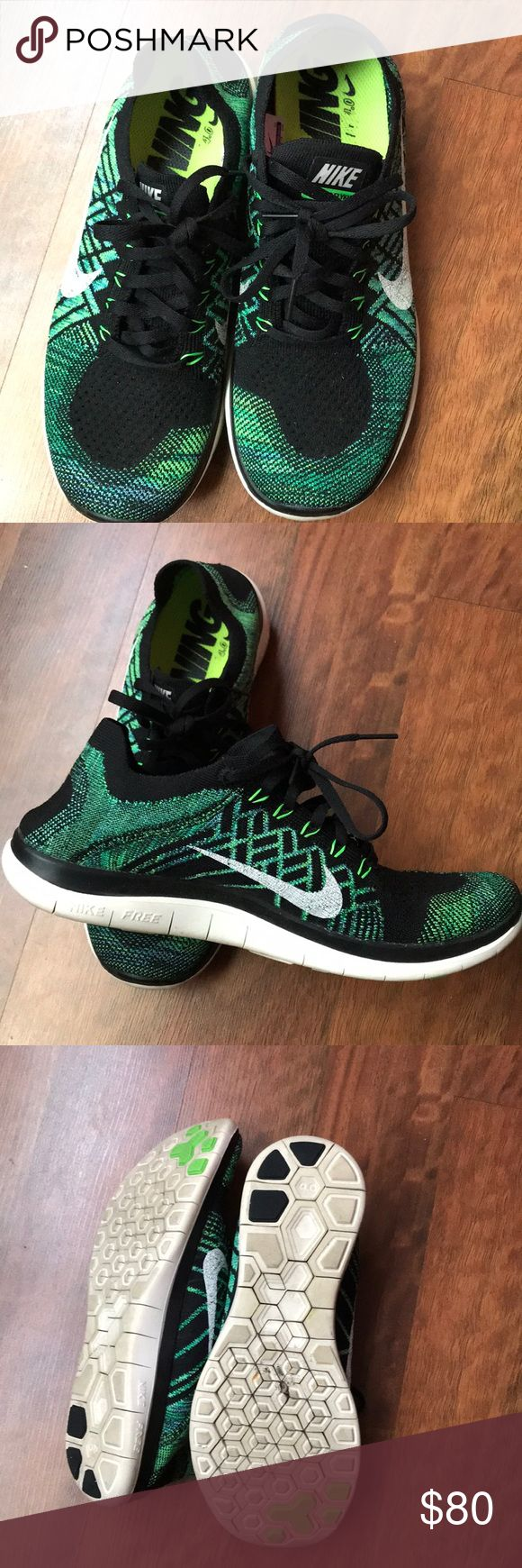 🌿NIKE FREE 4.0 FLYKNIT🌿 Preowned, excellent condition, rarely worn, like new with box. Nike Shoes Athletic Shoes