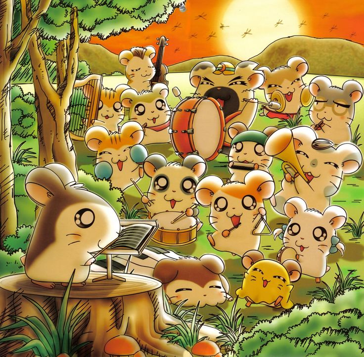 Hamtaro....OMG I loved this show when I was six, I still do, but I don't watch it anymore...THIS IS TOO CUTE <3 <3 <3