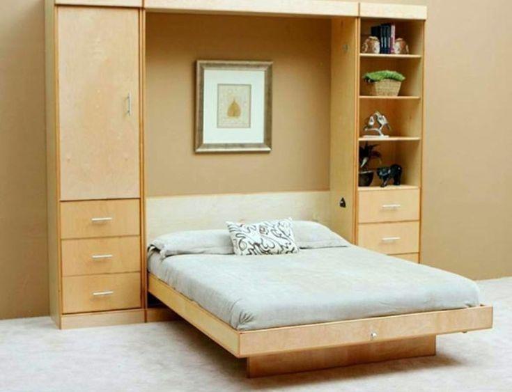 Die besten 25+ Diy klappbett Ideen auf Pinterest Murphy-Betten - eckschränke für schlafzimmer