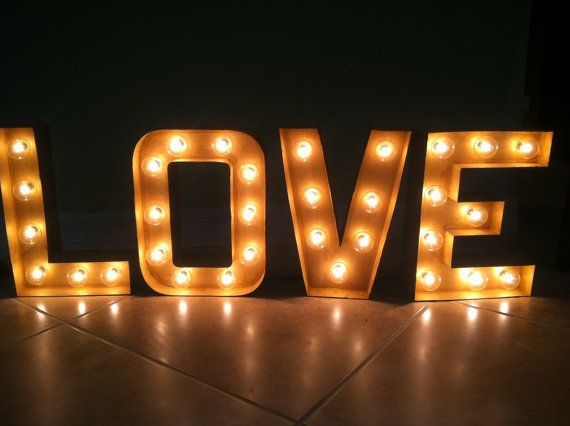 light bulb letters marquee signs custom by bonvivantprinting 6900