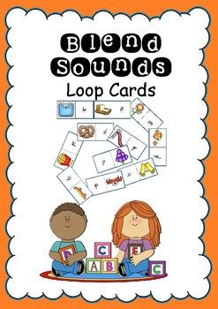 Loop cards can be used as a literacy station, fast finishes activity or as a puzzle. This pack contains 5 sets of cards each have different coloured boarders so they don't get mixed up. There are 20 pieces per puzzle covering each of the blend sounds.