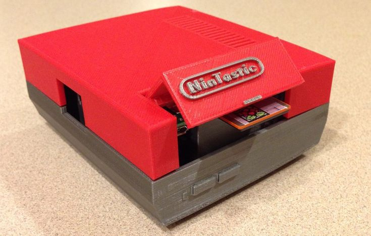 3D Printed Raspberry Pi Case Pays Homage to Classic NES Console  - Full Selection of Pi Products: http://www.mcmelectronics.com/content/en-US/raspberry-pi