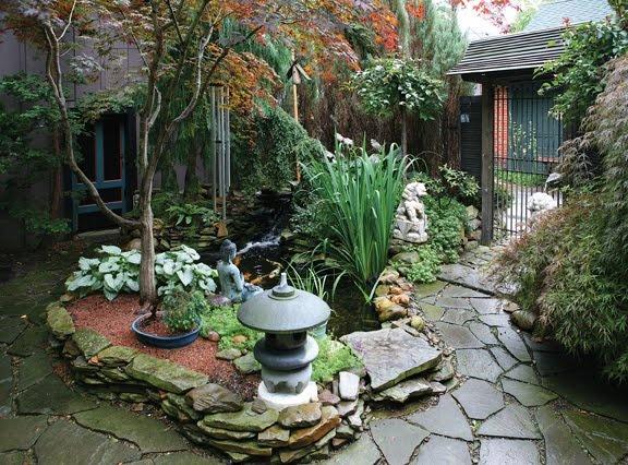 Very nice japanese garden