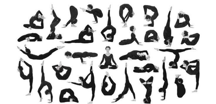 Yoga Poses-