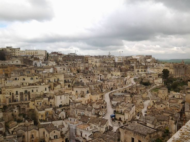 """Art City Matera in Southern Italy won the Title """"European Capital of Culture 2019"""
