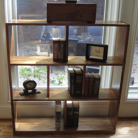 ... Hand Crafted Open Back Bookcase or Room Divider on Etsy, $389.95