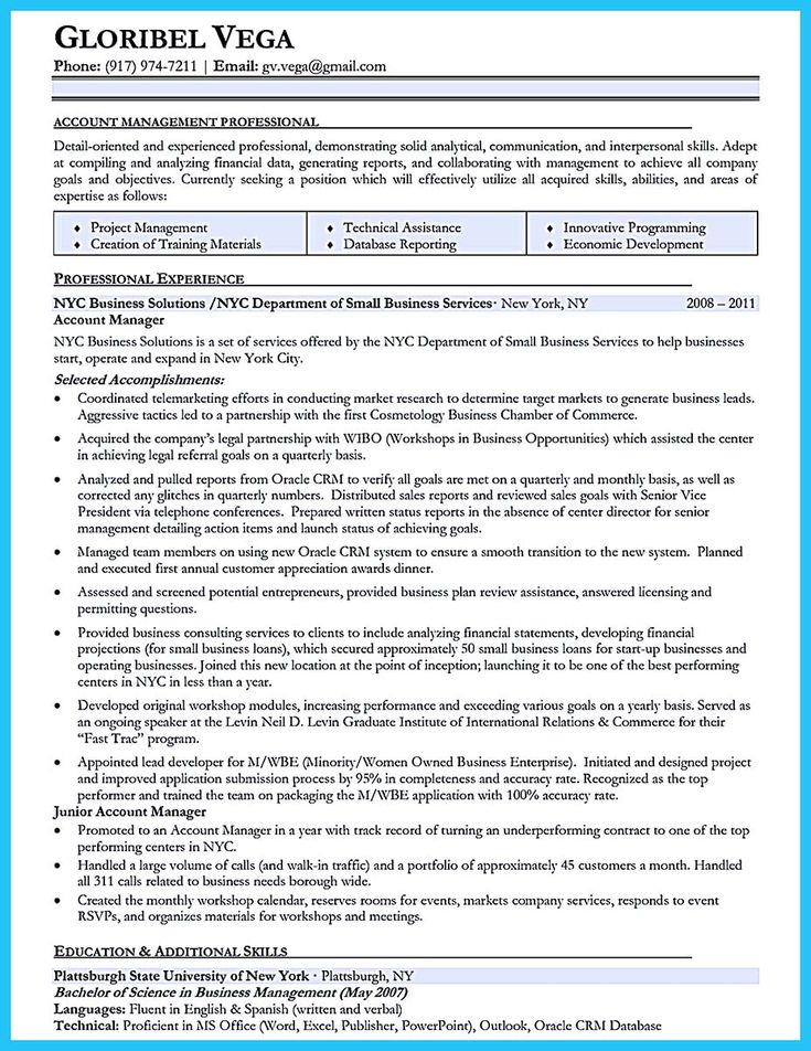 cool High Impact Database Administrator Resume to Get Noticed - database administrator resume