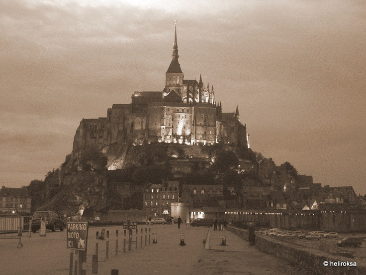 Le Mont Saint Michel, Normandy, France