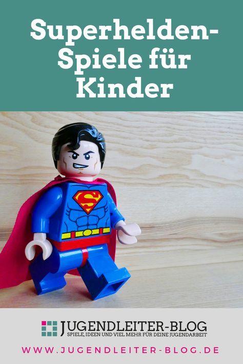 superhelden-spiele für kindergeburtstage, partys und mehr