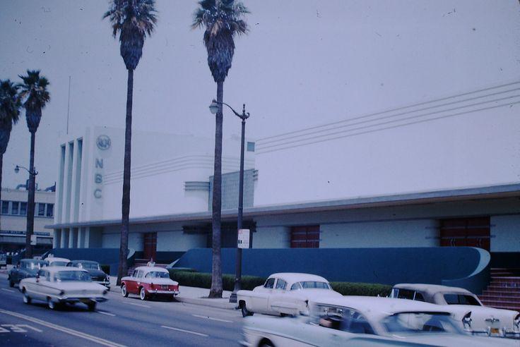 https://flic.kr/p/Z3rgf2 | Found Photo - NBC Studios Los Angeles | Sunset & Vine, Dated 1960