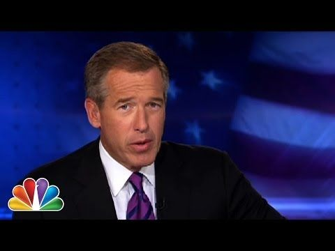 """NBC Nightly News managing editor and anchor Brian Williams raps The Sugar Hill Gang's classic """"Rapper's Delight"""" -- and, yes, he brought two friends along."""