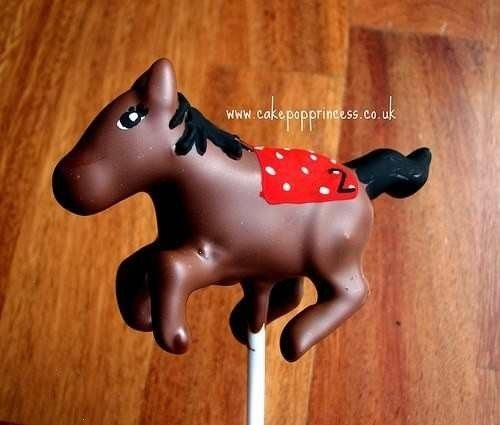HORSE CAKE POP (KENTUCKY DERBY)