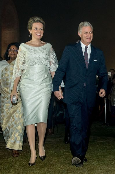 King Philippe and Queen Mathilde visit India – Day 4