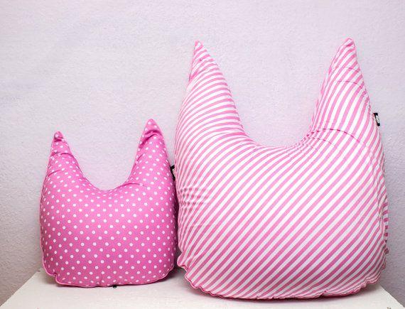 Pillow  pillows  set of pillows  polka dot by FoxyTricksHomeAndYou
