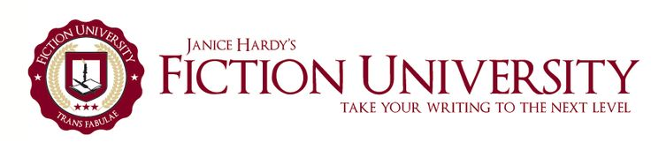 Fiction University - great place for writers to get all kinds of great tips and instruction - LOVE IT! Great Job Janice Hardy!!