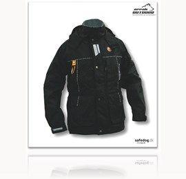 Original Arrak jakke sort - med apport lomme bagpå MUST HAVE for næste vinter