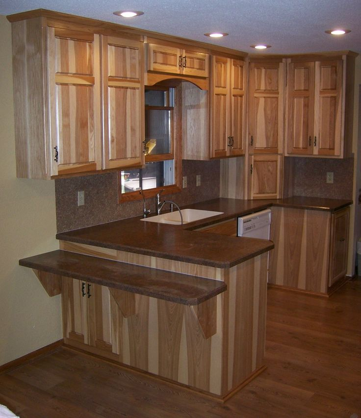 kitchens with hickory cabinets 17 best images about hickory cabinets on 22283