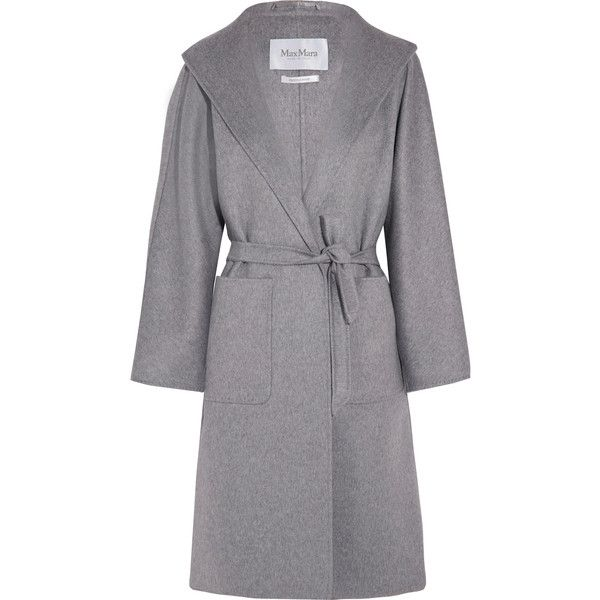 Grey cashmere three button coat white dresses