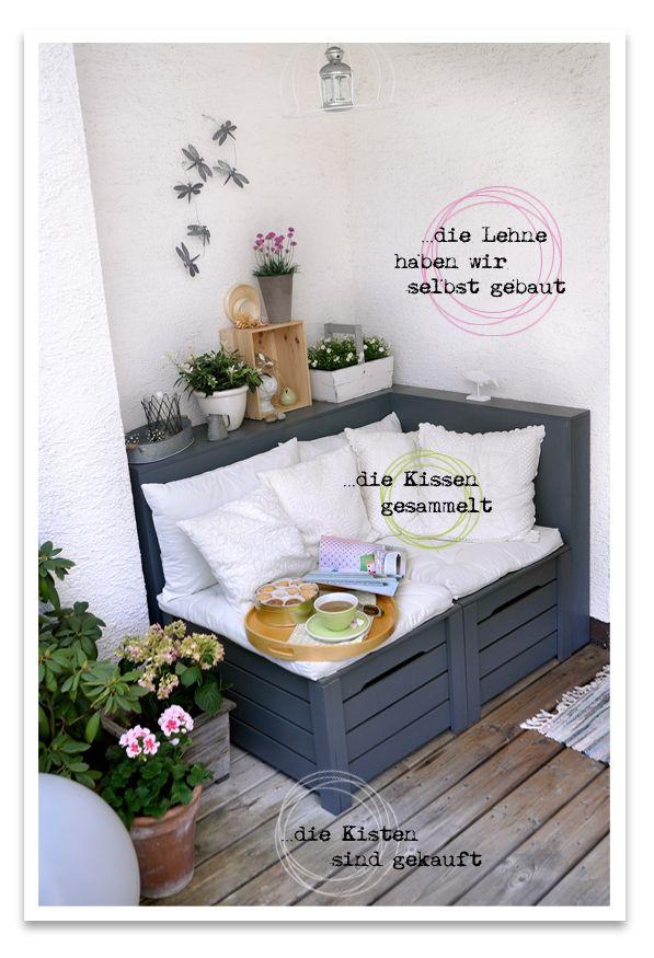 Kelly´s Corner: …die Gartensaison ist eröffnet! | ★Les Tissus Colbert holzboden, lehne pflanze links unten