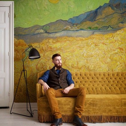Wall papers and decor based on Van Gogh's works