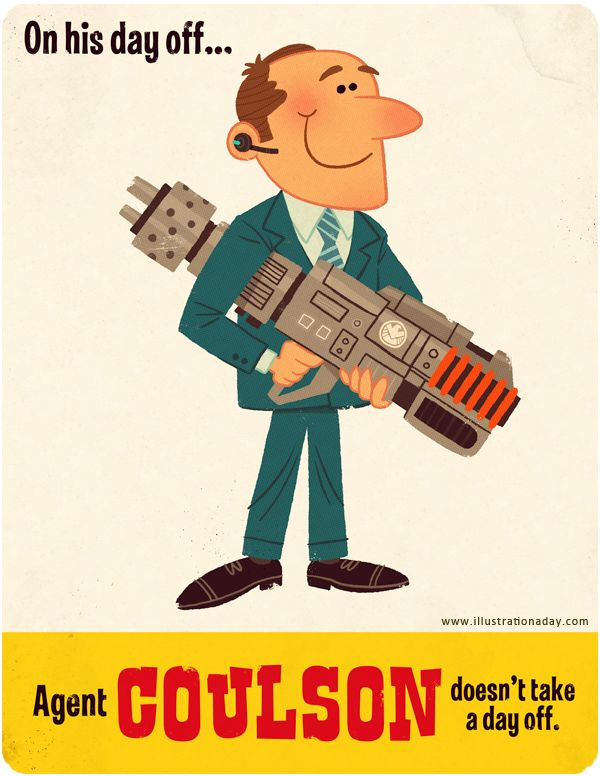 Cute Illustrations Show Avengers' Day Off - My Modern Metropolis