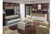 Obývací sestava Home Media: http://www.nejlepsi-nabytek.cz/obyvaci-sestavy/obyvaci-sestava-home-media-biladub-sonomabila-mdf-vrasnena