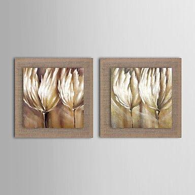 pintura+a+óleo+moderna+conjunto+abstrato+flor+de+2+pintados+à+mão+de+linho+natural,+com+quadro+esticado+–+BRL+R$+305,14                                                                                                                                                      Mais